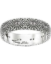 Thomas Sabo | Metallic Dreamcacther Sterling Silver Ring | Lyst