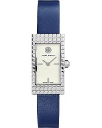 Tory Burch | Metallic The Buddy Signature Stainless Steel Watch | Lyst