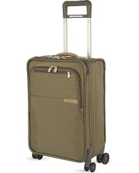 Briggs & Riley - Green Domestic Carry-on Four-wheel Spinner Suitcase 56cm for Men - Lyst
