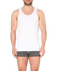 Calvin Klein | White Two Pack Crew-neck Vests for Men | Lyst