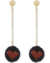 Venessa Arizaga | Multicolor Addicted 2 Luv Drop Earrings | Lyst