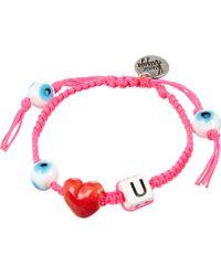 Venessa Arizaga - Pink Horse Play Bracelet - Lyst