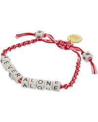 Venessa Arizaga | Red 4ever Alone Bracelet | Lyst