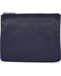 Mon Purse - Blue Poche Leather Pouch - Lyst