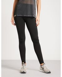 Monreal London - Black Hi-tech Seamless Tech-knit leggings - Lyst