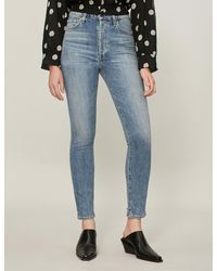 Citizens of Humanity Blue Olivia Skinny-fit High-rise Jeans