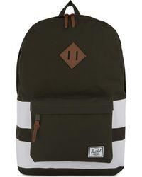 Herschel Supply Co. - Green Heritage Canvas Backpack - Lyst