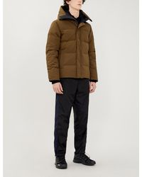 Canada Goose Green Macmillan Quilted Shell Parka for men