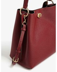 COACH Red Charlie Bucket Bag