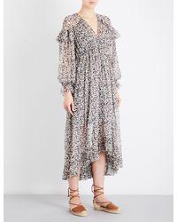 Zimmermann - Multicolor Prima Cherry Chiffon Dress - Lyst