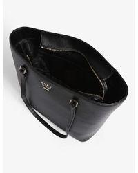 DKNY Black Whitney Leather Large Tote