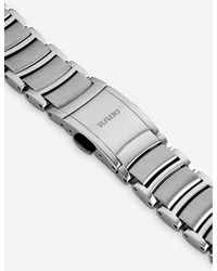 Rado Metallic R30027733 Centrix Stainless Steel And Diamond Watch
