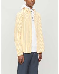 HUGO Multicolor Striped Cotton-poplin Shirt for men