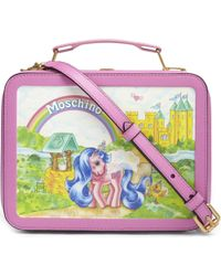 Moschino Multicolor My Little Pony Leather Cross-body Bag