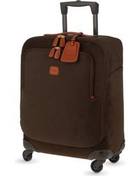Bric's Green Life Four-wheel Cabin Suitcase 54cm for men