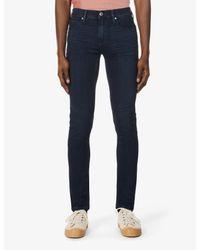 PAIGE Blue Croft Skinny Stretch-denim Jeans for men
