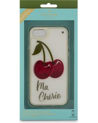 Kate Spade Red Jewelled Cherry Iphone 7 Case