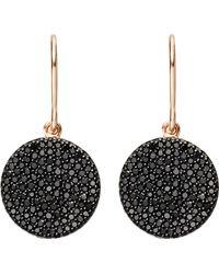 Astley Clarke Icon Black Diamond Earrings