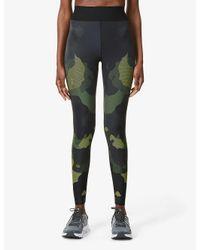 Ultracor Multicolor Mesh Camo High-rise Stretch-jersey leggings