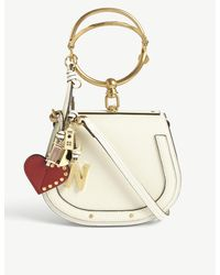 Chloé White Nile Small Leather Cross-body Bag