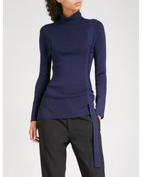 Finery Lyst Blue In Eastbrook Knitted London Turtleneck vxwdOq