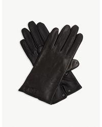Ted Baker Black Baaylee Leather Gloves