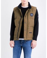 Canada Goose - Green Freestyle Crew Shell-down Gilet for Men - Lyst