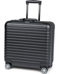 Rimowa Black Salsa Four-wheel Business Suitcase 43cm for men