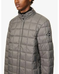 Replay Gray Padded Shell Jacket for men
