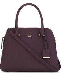 Kate Spade - Purple Cameron Street Maise Leather Shoulder Bag - Lyst