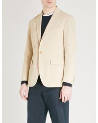 Polo Ralph Lauren - Natural Morgan-fit Cotton-blend Jacket for Men - Lyst