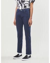 PAIGE Blue Federal Slim-fit Straight-leg Jeans for men