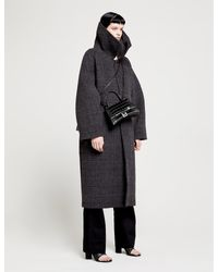 Balenciaga Multicolor Incognito Checked Wool-blend Coat