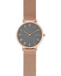 Skagen Gray Skw2675 Hald Stainless Steel Watch