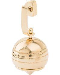 Loewe - Metallic Stone Fruit Gold-plated Earring - Lyst
