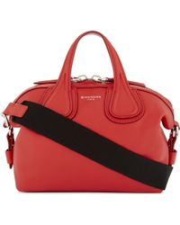Givenchy - Red New Nightingale Mini Leather Shoulder Bag - Lyst