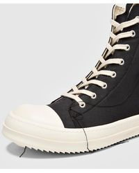 Rick Owens Black Drkshdw Contrast Boot Sneaker for men