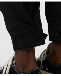 Neil Barrett Black Parachute Cargo Pant for men