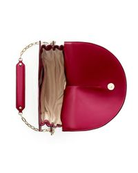Shanghai Tang - Red Naadam Leather Crossbody Bag - Lyst