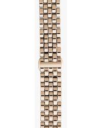 Shinola | Metallic 20mm Rose Gold Bracelet | Lyst