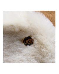 Ugg - Brown Sheepskin Heritage Flap - Lyst