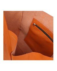 Kurt Geiger - Orange Violet Horizontal Tote - Lyst