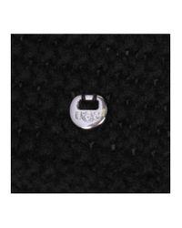 Ugg - Black Cable Fringe Scarf - Lyst