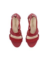Nine West Red Sandals