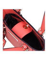 Carvela Kurt Geiger Red Micro Din Cut Bag Peach