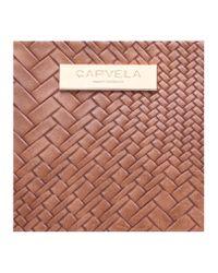 Carvela Kurt Geiger | Brown Pam Structured Mini Hobo | Lyst