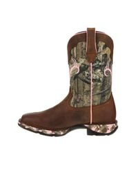 Durango - Brown Lady Rebel By Women's Camo Western Boot - Lyst