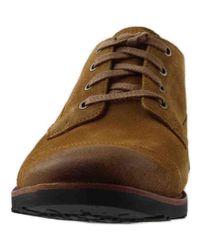 Timberland Brown Kendrick Cap Toe Oxford Shoes for men