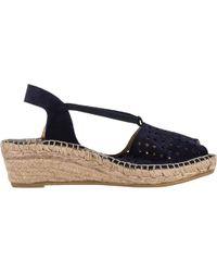 8e826ba5402 Women's Blue Corrine Espadrille Wedge Sandal