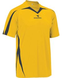 Diadora - Yellow Rigore Jersey for Men - Lyst